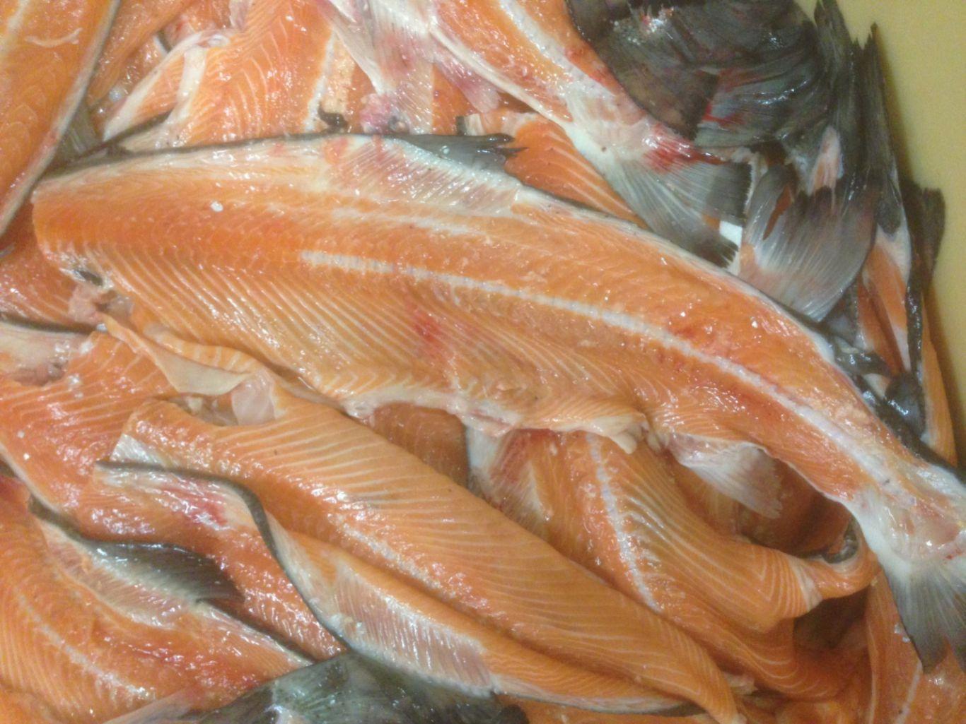 Брюшки лосося рецепт пошагово